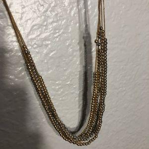 Loft Mixed Metals Necklace